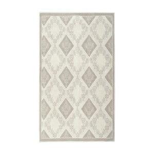 Kremowy dywan bawełniany Floorist Fara, 150x80cm