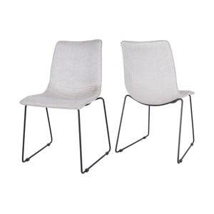Jasnoszare krzesło Canett Delta