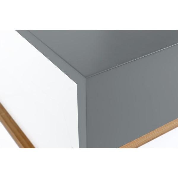 Szary stolik Woodman Cubis
