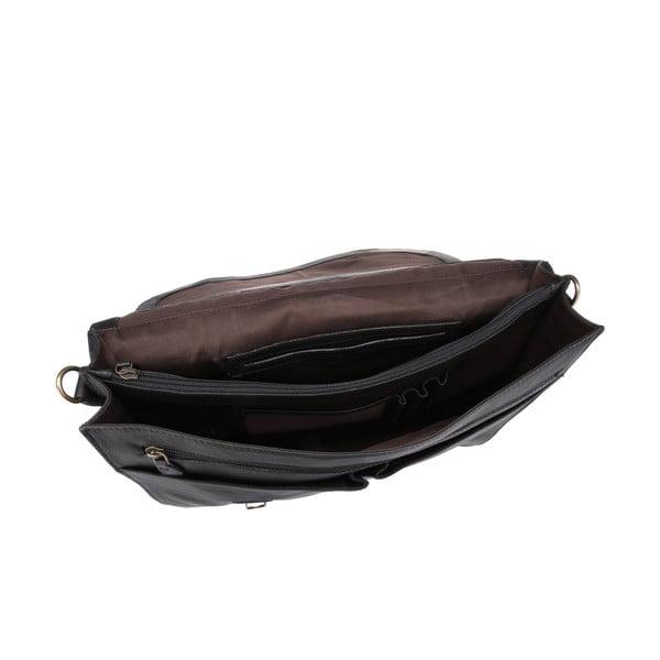 Skórzana torba męska Terrence Black