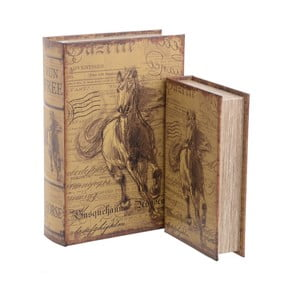 Zestaw 2 pudełek InArt Horse