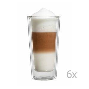 Zestaw 6   dużych szklanek na latte macchiato bloomix Milano