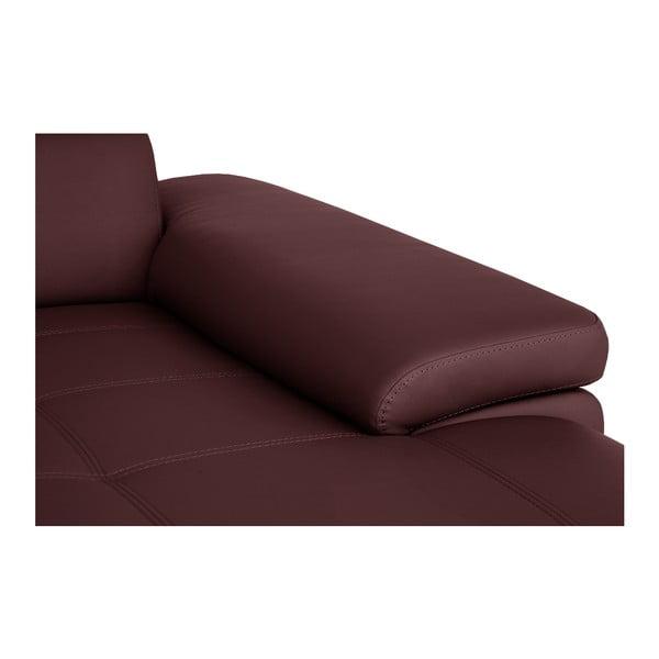 Bordowa sofa Modernist Parure