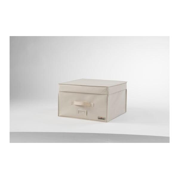 Jasnobeżowy pojemnik próżniowy Compactor, szer. 42 cm