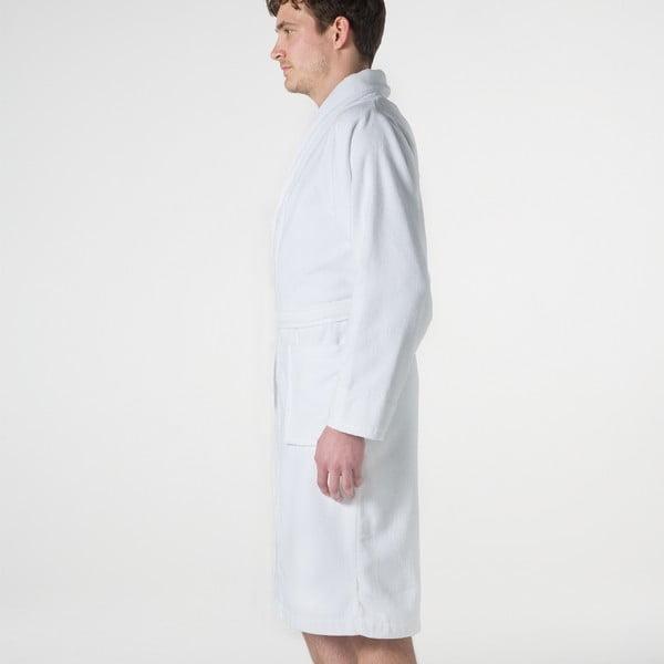 Biały szlafrok Seahorse Pure, rozm. XL
