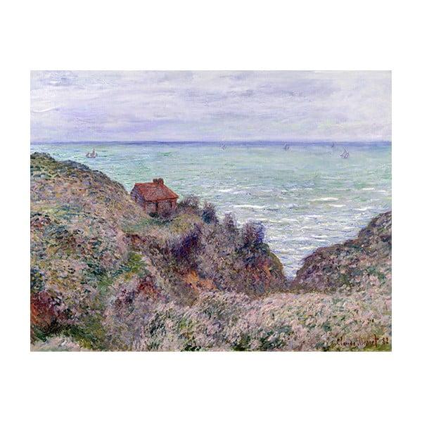 Reprodukcja obrazu Claude'a Moneta – Cabin of the Customs Watch, 50x40 cm