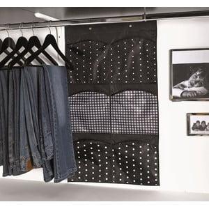 Materiałowy organizer do szafy z 6 przegródkami Compactor Pockets