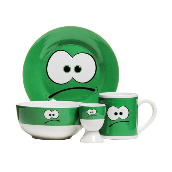 Zestaw śniadaniowy  Premier Housewares Funny Face, 4 sztuki