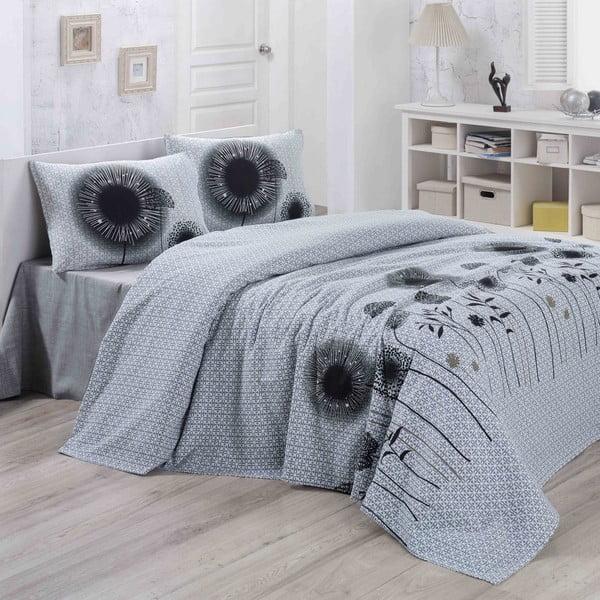 Narzuta na łóżko White Black, 200x230 cm