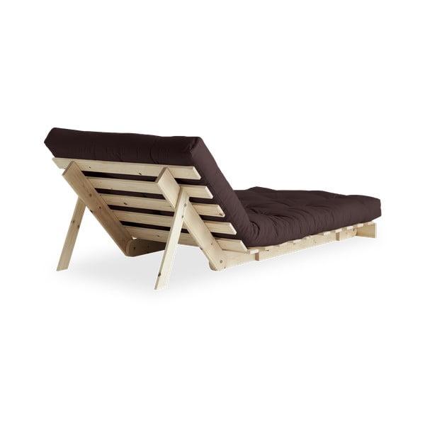 Fotel rozkładany Karup Design Roots Raw/Brown