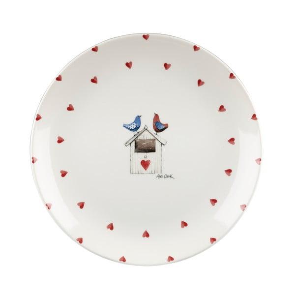 Talerz Two Lovebirds, 26 cm