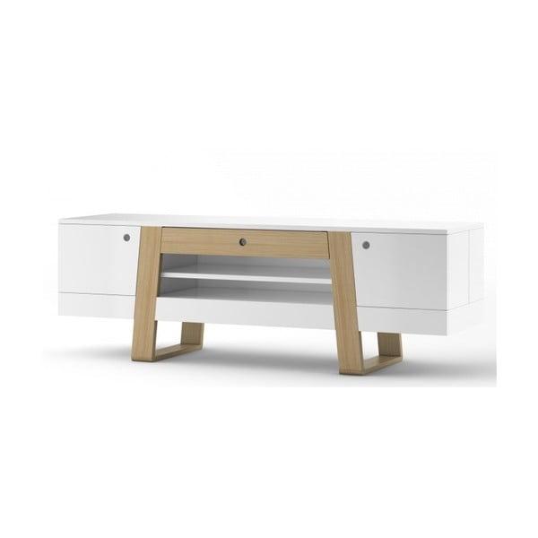 Biały stolik pod TV Absynth Magh