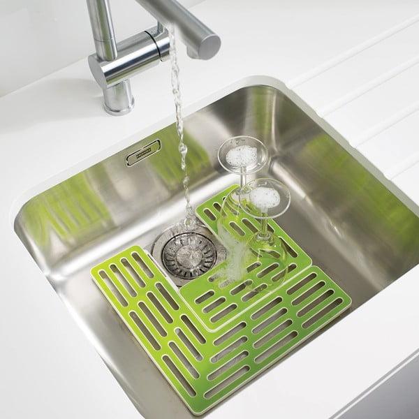 Zestaw 2 zielonych podkładek do zlewu Joseph Joseph Sink Saver