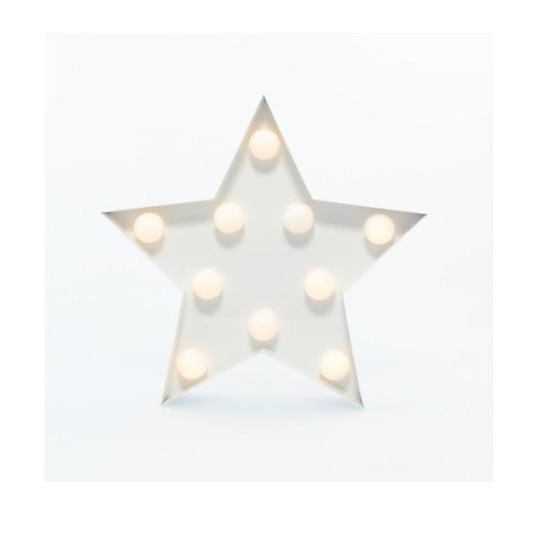 Światło dekoracyjne Carnival Star, białe