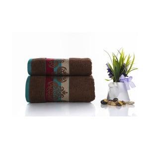 Zestaw 2 ręczników Noble V3, 50x90 cm + 70x140 cm