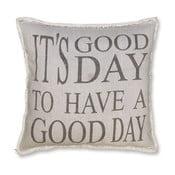 Poduszka Good Day 45x45 cm, szara