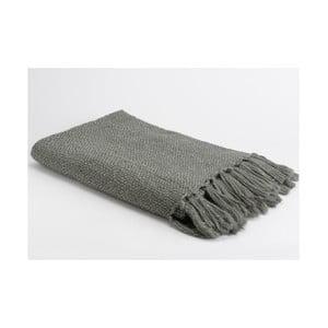 Koc Grey Stitch, 170x130 cm