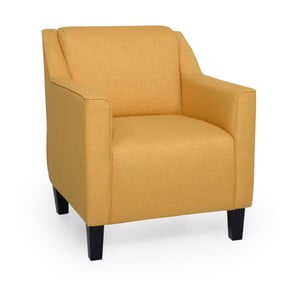 Żółty fotel Softnord Basel