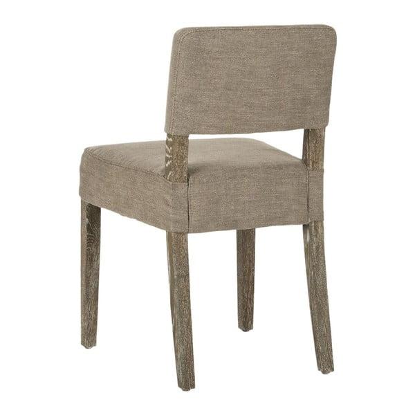 Zestaw 2 krzeseł do jadalni Claire Leather