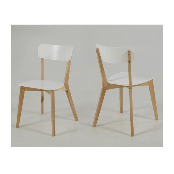 Białe krzesło Actona Raven