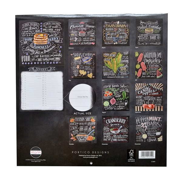 Kalendarz Portico Designs Lily &Val