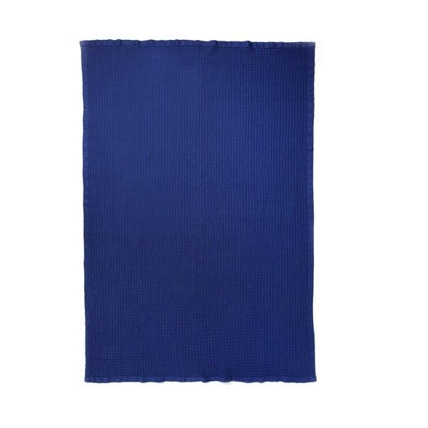 Niebieska narzuta Casa Di Bassi, 150x200 cm