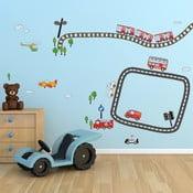 Naklejka na ścianę Walplus Kid Transport
