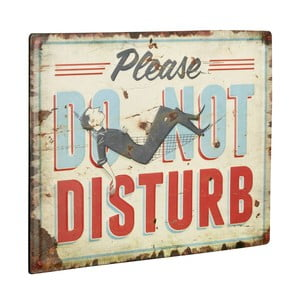 Tablica Please do not disturb, 30x40 cm