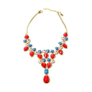 Naszyjnik Crystal Dune Red/Blue