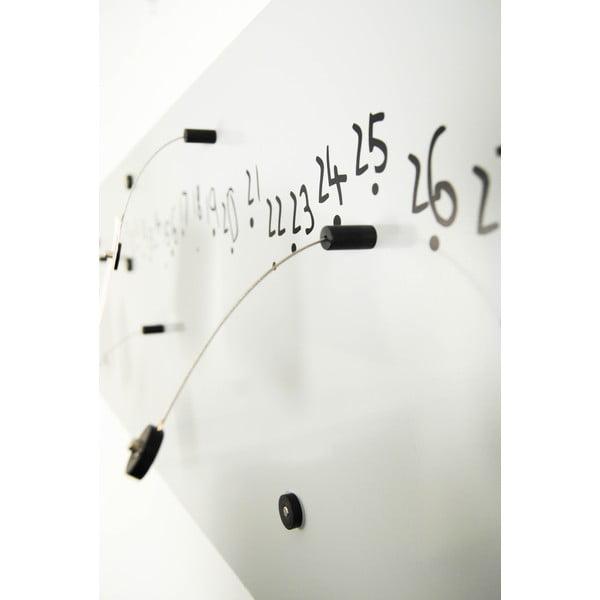 Magnetyczny kalendarz Krok White, 100x30 cm
