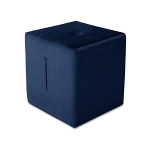 Niebieski puf Mazzini Sofas Margaret, 40x45 cm