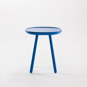 Niebieski stolik z litego drewna EMKO Naïve Small
