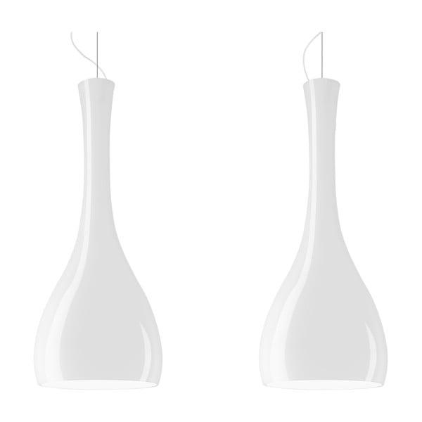 Lampa podwójna ITTEKI Elementary opal glossy/white/white