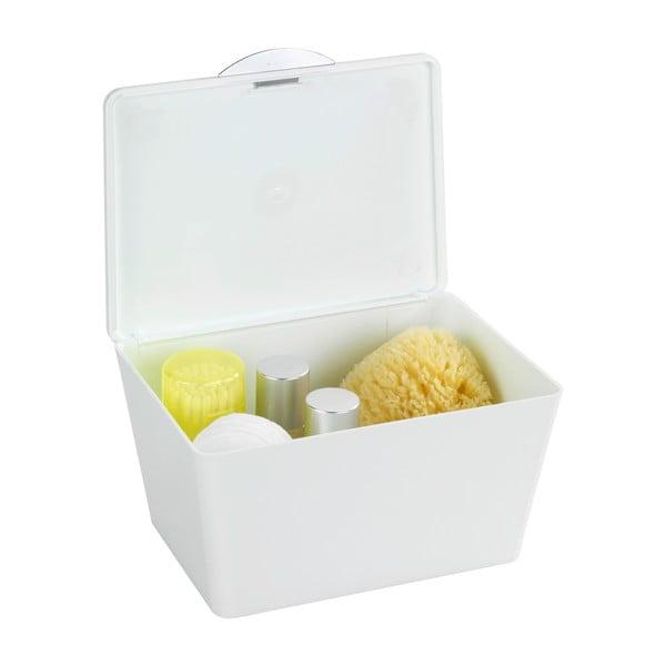 Biały pojemnik łazienkowy Wenko Brasil