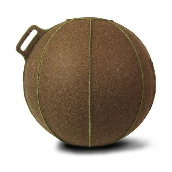 Brązowa filcowa piłka do siedzenia VLUV, 75 cm