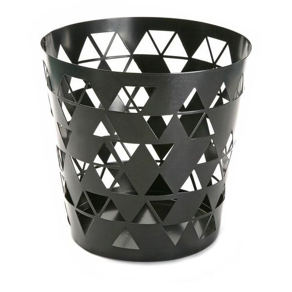 Kosz na śmieci Black Polygon