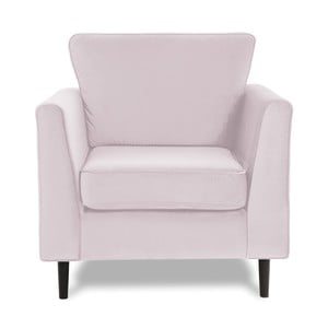 Jasnofioletowy fotel Vivonita Portobello