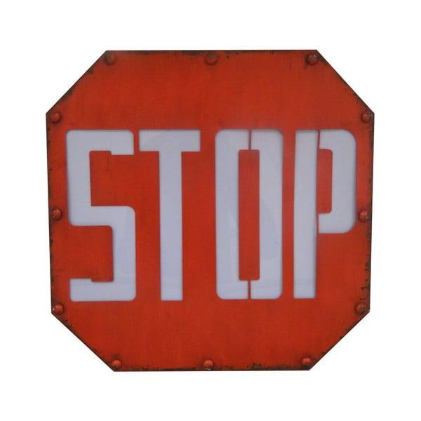 Dekoracyjny znak świetlny Antic Line Stop