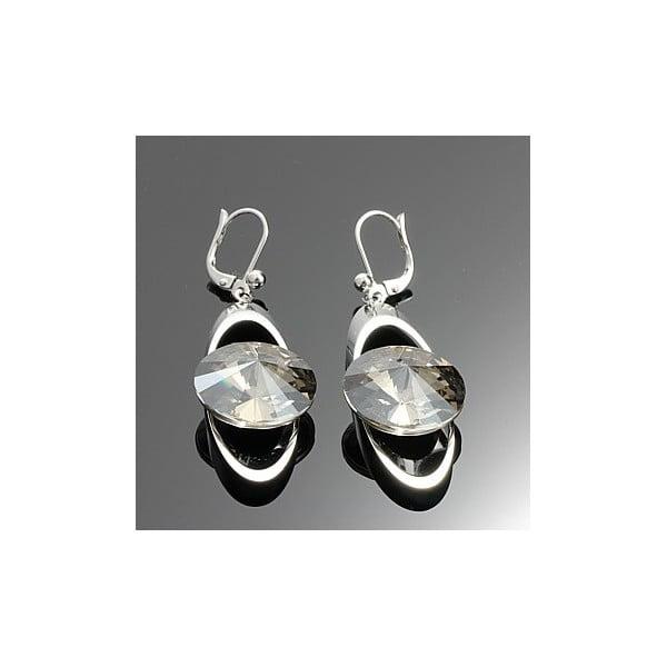 Kolczyki Swarovski Elements Elegant White