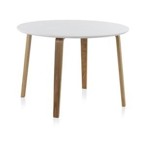 Biały stół okrągły Geese, ⌀ 110 cm