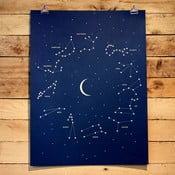Plakat Constellations 61x46 cm