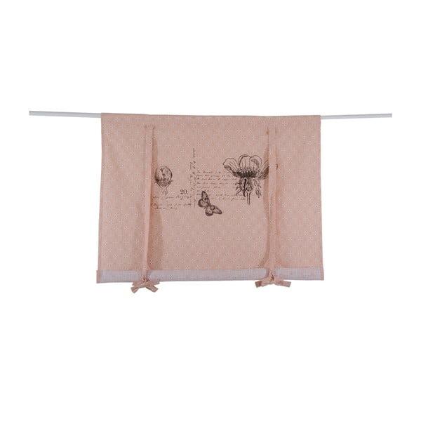 Roleta rzymska Botanice 140x100 cm, różowa