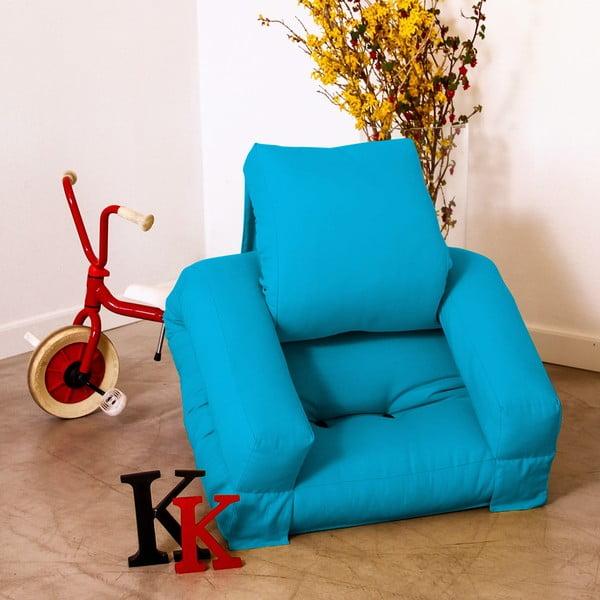 Fotel dziecięcy Karup Baby Hippo Horizon Blue