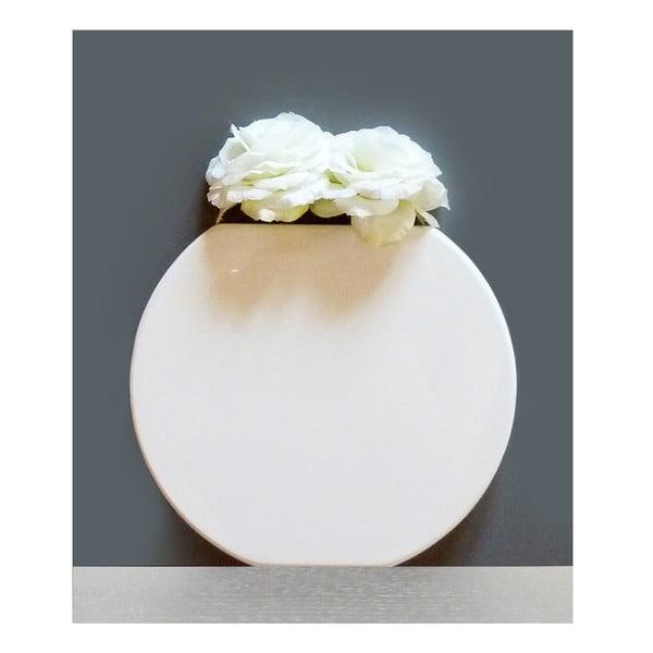 Wazon ścienny Vanity Round White