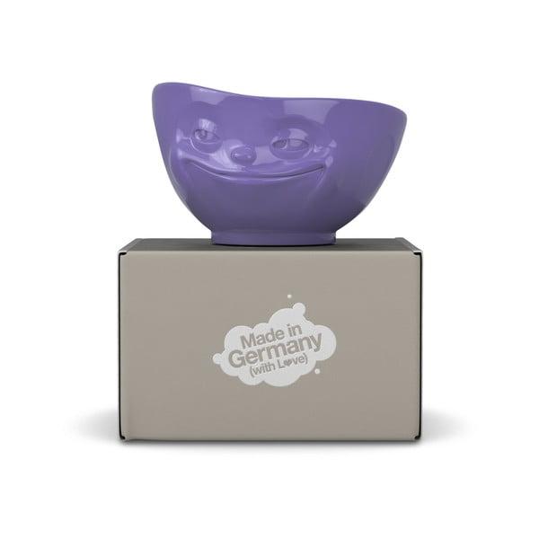 Fioletowa uśmiechnięta miska 58products
