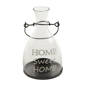 Szklaný świecznik Heaven Sends Home Sweet Home
