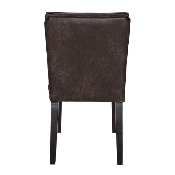 Zestaw 2 krzeseł Rodeo Black