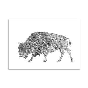 Plakat Americanflat Buffalo, 30x42 cm