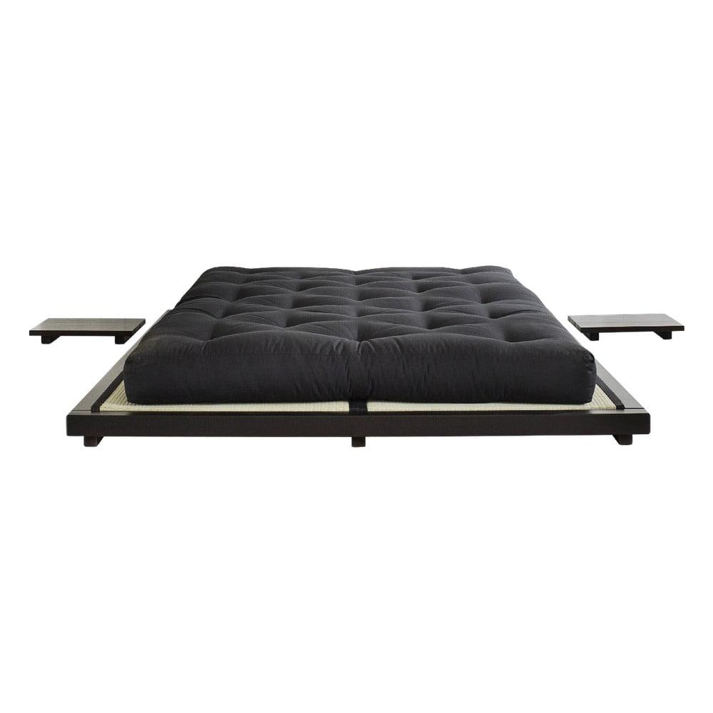 Łóżko z drewna sosnowego Karup Design Dock Bed, 11x193x213 cm