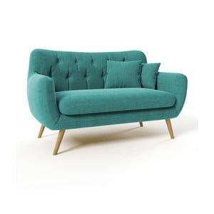 Sofa dwuosobowa Lagos Orinoco, turkusowa
